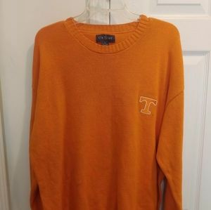 Vintage UT Vols Tennessee Men's Orange Sweater